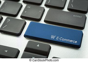 e-commerce, gombol, számítógép, nyomdai, billentyűzet