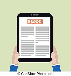 ebook, tabletta
