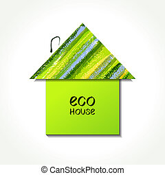 eco, épület, dolgozat