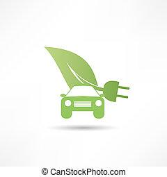 eco, autó, barátságos