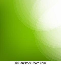 eco, egyenes, zöld háttér