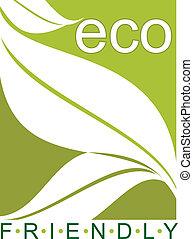 eco, fogalom, barátságos