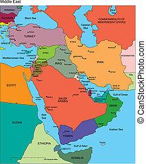editable, kelet, országok, címek, középső