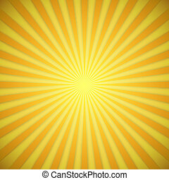 effect., sárga, fényes, vektor, háttér, narancs, árnyék, rövid napsütés