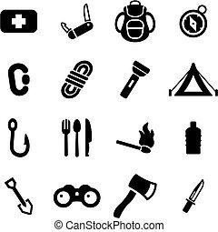 egészségügyi csomag, ikonok