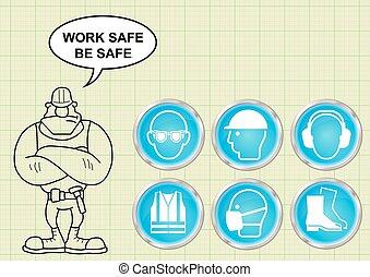 egészség, szerkesztés, biztonság