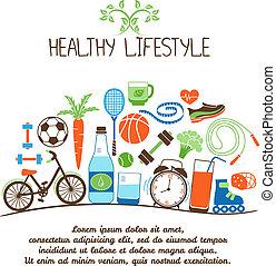 egészséges, életstílusok