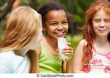 egészséges, gyerekek
