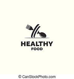 egészséges táplálék, tervezés, jel