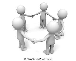együttműködés, befog, partner