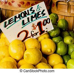 egy, két, citromfák, limes