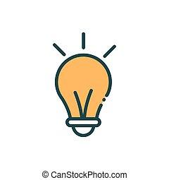 egyenes, gumó, tölt, média, újítás, társadalmi, fény, gondolat