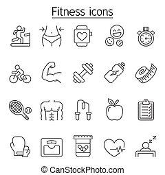 egyenes, mód, állhatatos, állóképesség, híg, ikon