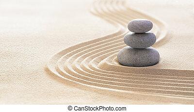 egyensúly, -, ásványvízforrás, homok, erkölcsösség, összhang, terápia, zen, csiszol, megvonalaz, fogalom