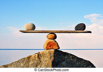 egyensúly, zen