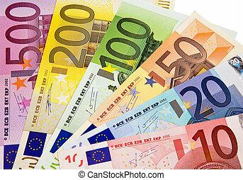 egyesítés, pénznem, europan
