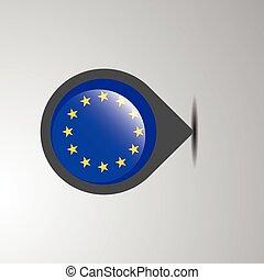 egyesítés, térkép tekebábu, európai