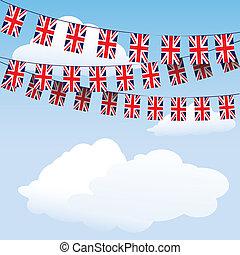 egyesítés, zászlódísz, zászlók, bubi