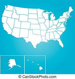 egyesült, -, ábra, egyesült államok, rhode, állam, amerika, islan