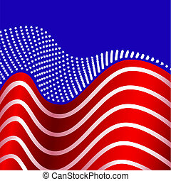 egyesült államok, amerikai, egyesült, lobogó