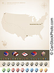 egyesült, amerika, egyesült államok