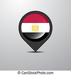 egyiptom, térkép tekebábu