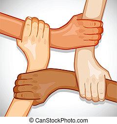 egység, kézbesít