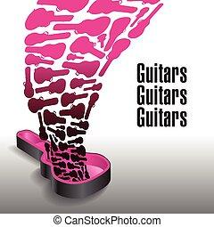 elég, soha, gitárok