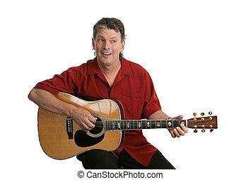 előadó, gitár