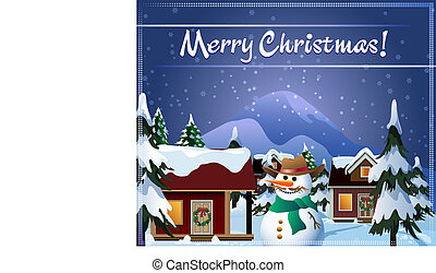 előest, karácsony, falu