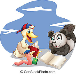 előjegyez, állatok, felolvasás
