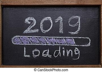 előrehalad, berakodás, 2019, bár