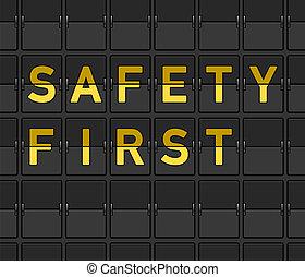 először, biztonság, bizottság, megfricskáz
