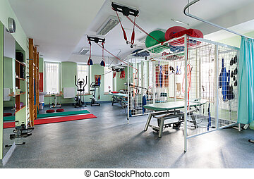 előszoba, rehabilitáció