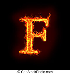 elbocsát, alphabets, f