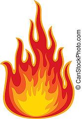 elbocsát, (flame)