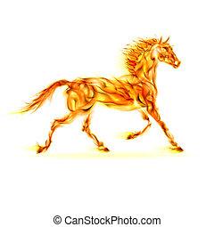 elbocsát, horse.