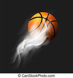 elbocsát, kosárlabda labda