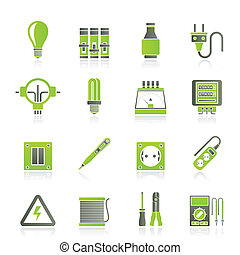 electrical berendezés, ikonok