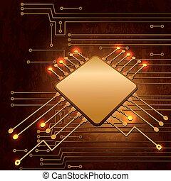 electronic áramkör