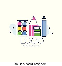 elem, fogalom, gyermekkor, elszigetelt, ábra, kreatív, vektor, tervezés, háttér, jel, húzott, fehér, kéz, eredeti, sablon