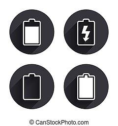 elem, villanyáram, megterhelés, icons., jelkép.