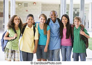 elemi iskola, osztály, kívül