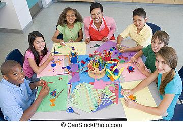 elemi iskola, rajzóra osztály