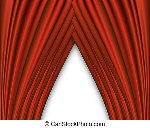 elfüggönyöz, white piros, háttér