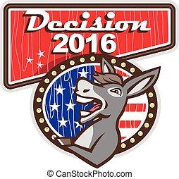 elhatározás, 2016, demokrata, szamár