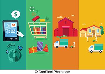 eljárás, megvásárol, online, internet