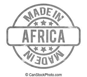 elkészített, afrika