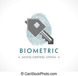 ellenőrzés, belépés, -, sys, jel, biometric