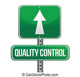 ellenőrzés, fogalom, aláír, forgalom, minőség, út
